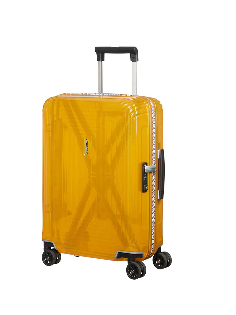 "SAMSONITE | Trolley ""Neopulse Lifestyle Spinner"" 55cm (Transparent Yellow) 122785 