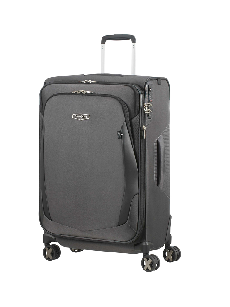 "SAMSONITE | Trolley ""X-Blade 4.0"" Spinner 71cm erweiterbar (Grey/Black) 