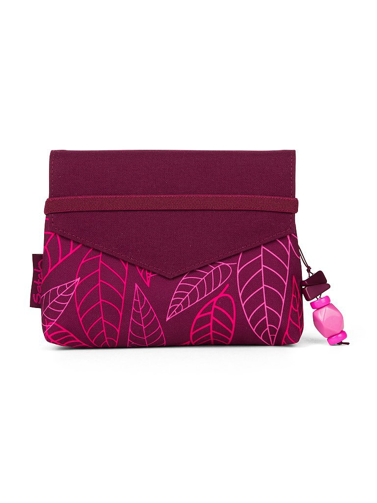 SATCH Clutch Klatsch - Purple Leaves