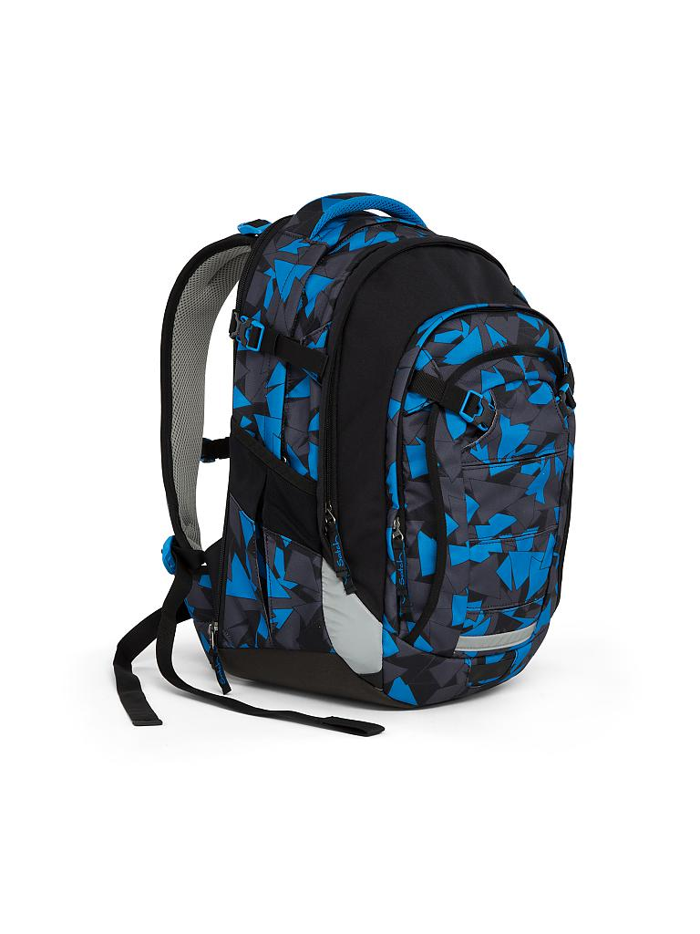 "SATCH | Schul-Rucksack ""Satch Match -  Blue Triangle"" 