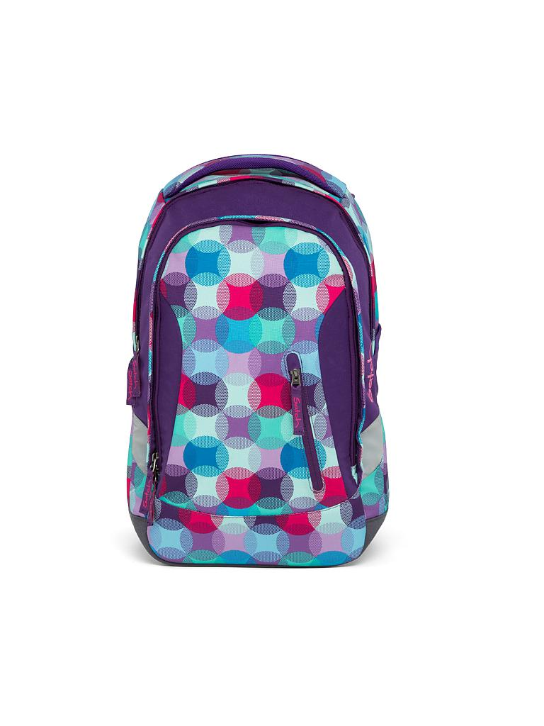 "SATCH | Schul-Rucksack ""Satch Sleek - Hurly Pearly"" 