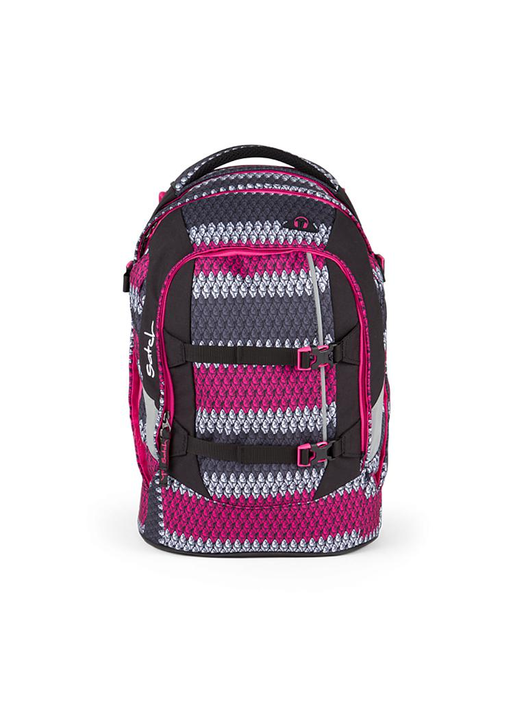 "SATCH | Schulrucksack ""Satch Pack - Red Boshi"" 