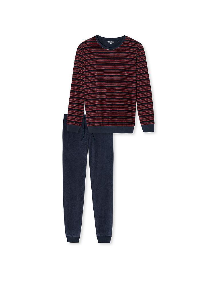 7d7d56c102 SCHIESSER Frottee-Pyjama rot | 48