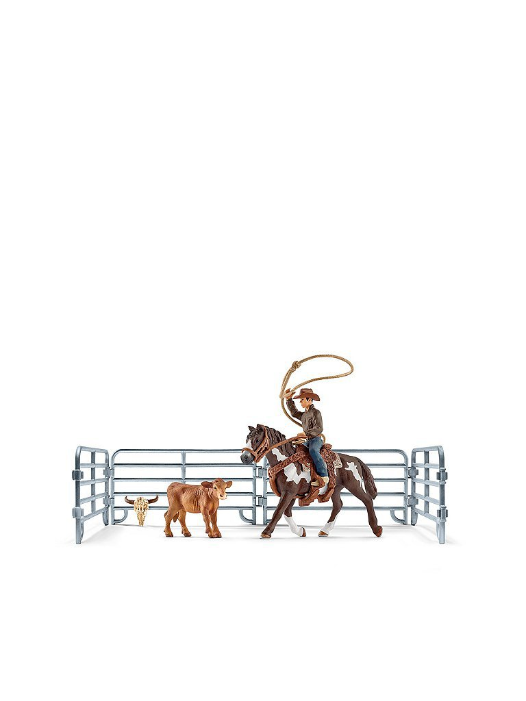 SCHLEICH Team Roping mit Cowboy Farm World 41418