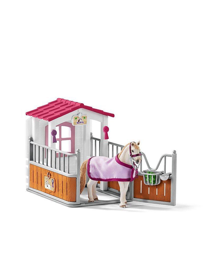 SCHLEICH Pferdebox mit Lusitano Stute Horse Club 42368