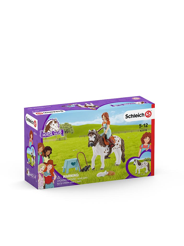 SCHLEICH | Horse Club Mia und Spotty 42518 | transparent
