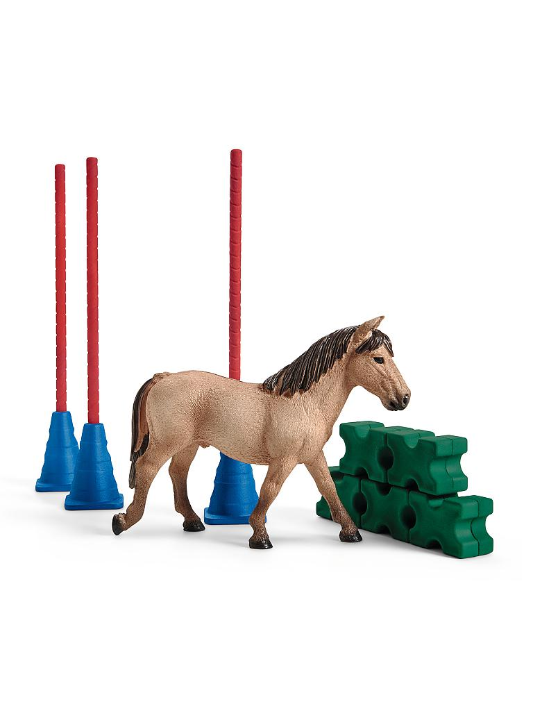 SCHLEICH | Pony Slalom 42483 | transparent