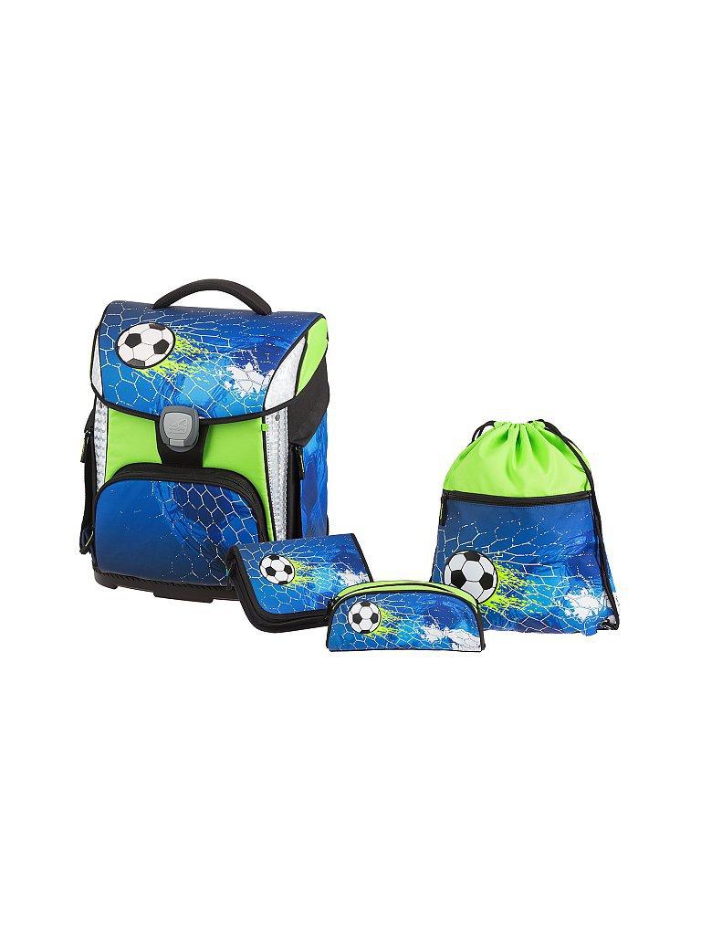 SCHNEIDERS Schultaschen-Set 4-tlg. Soccer Champ