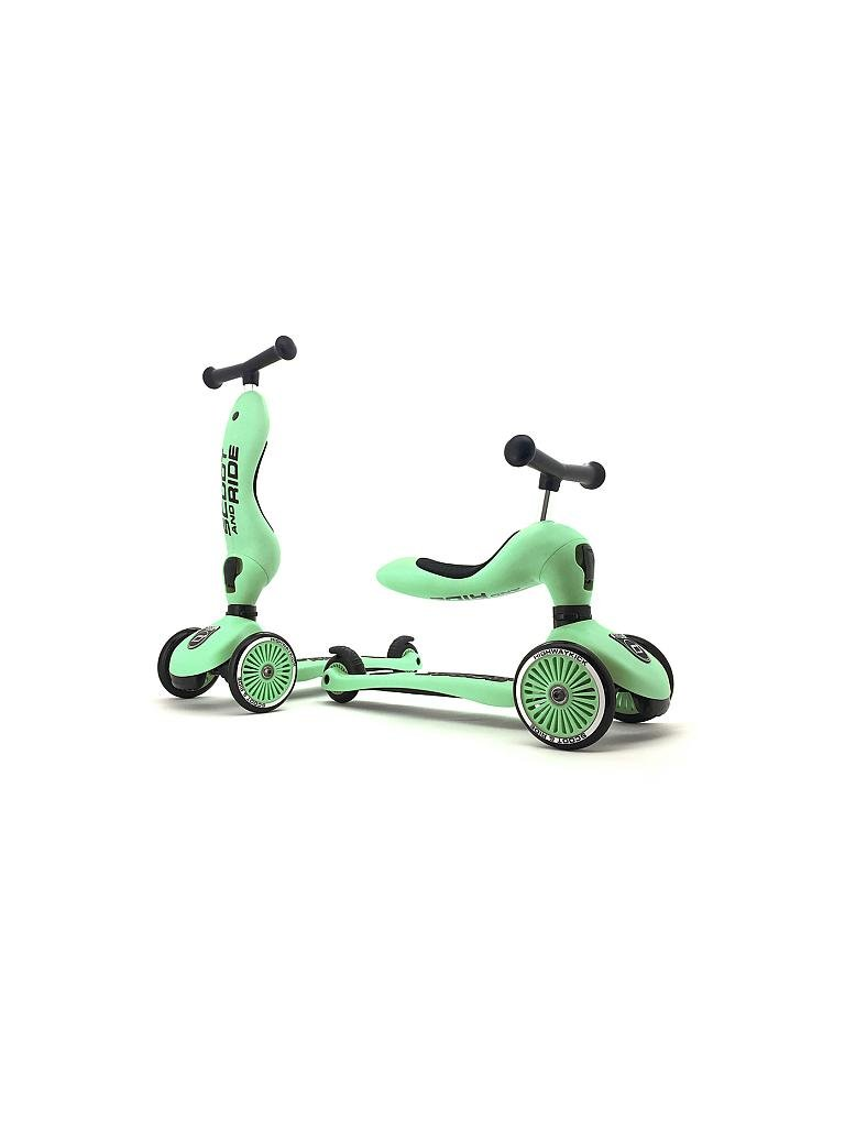 SCOOT & RIDE | 2in1 Kickboard - Highwaykick 1 (Forest) | grün