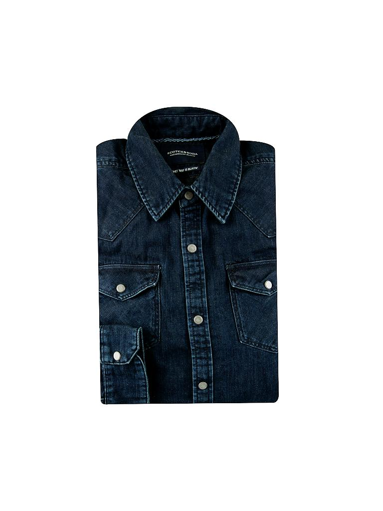 SCOTCH & SODA | Jeanshemd | blau