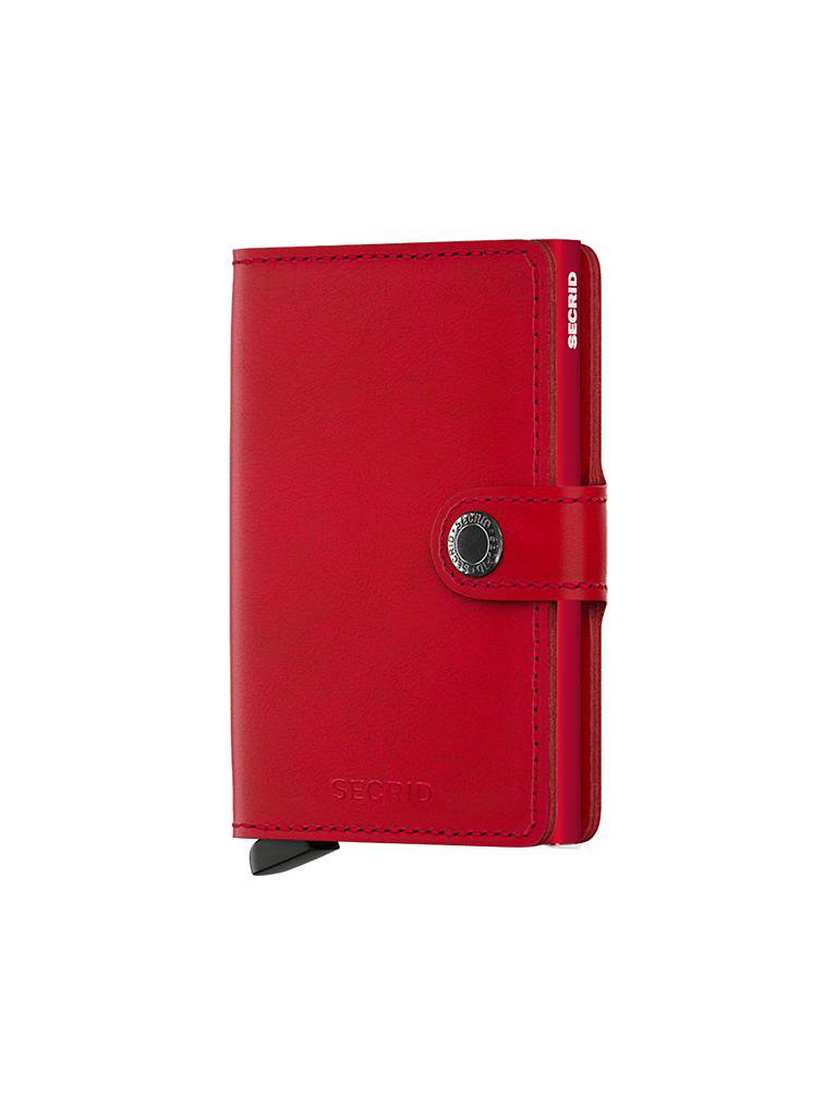"SECRID | Miniwallet ""Original Mini"" (Red/Red) 