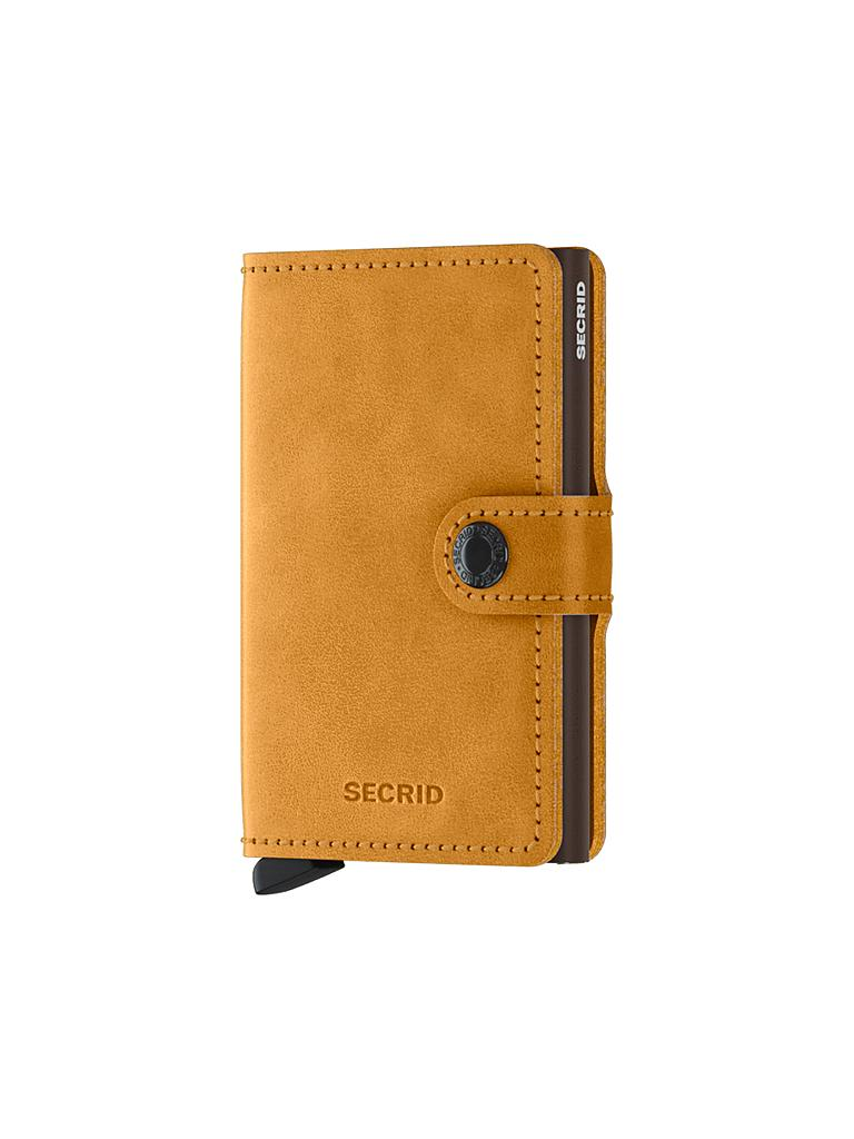"SECRID | Miniwallet ""Vintage Mini"" (Ochre) 
