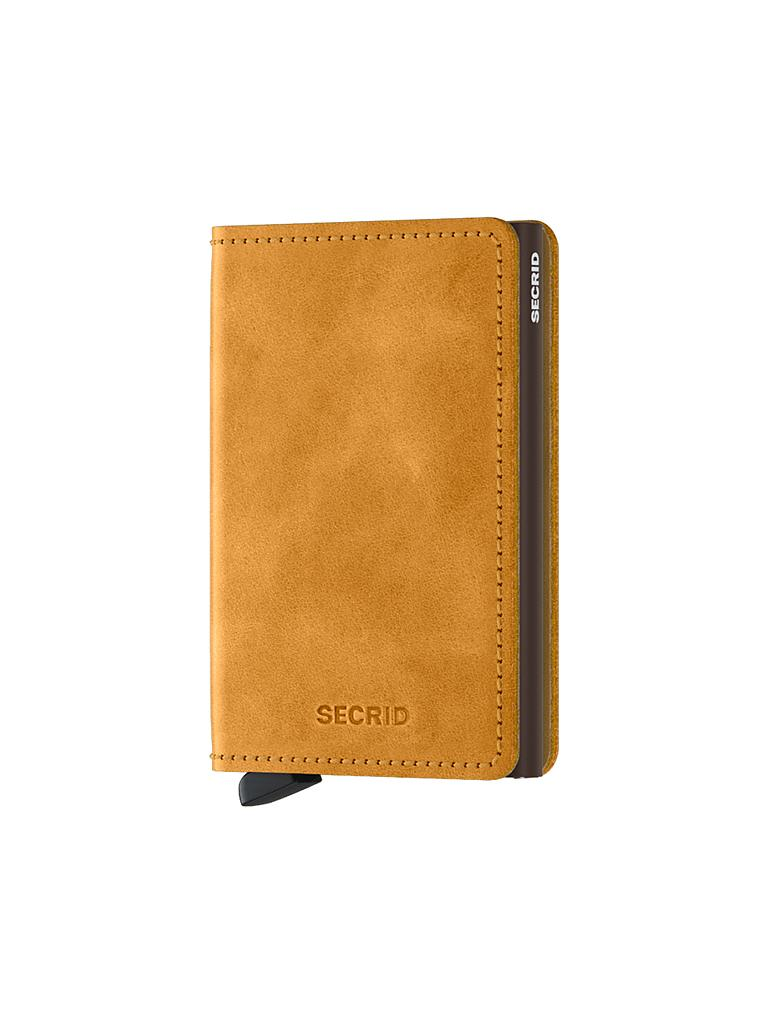 "SECRID | Miniwallet ""Vintage Slim"" (Ochre) 