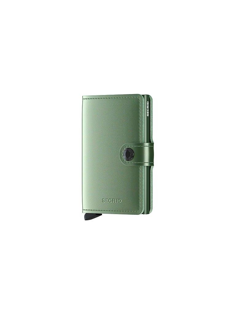 SECRID | Miniwallet Metallic Mini Green | grün