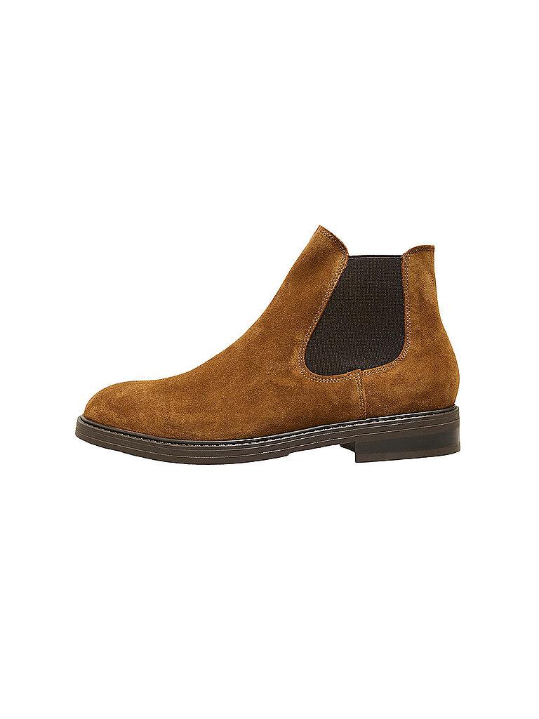 Selected Chelsea Boots Slhblake  Braun   40
