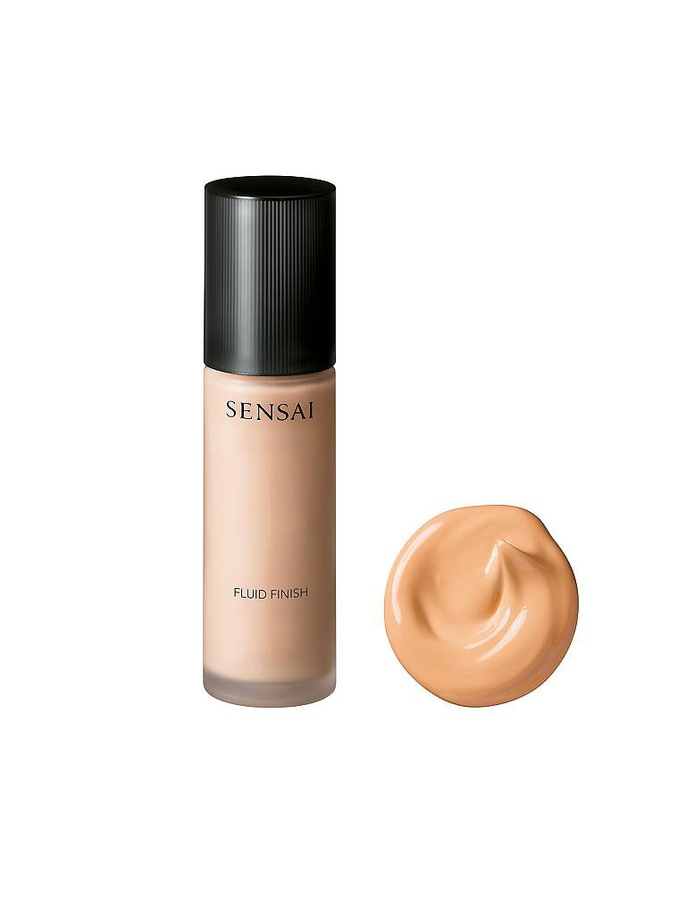 SENSAI | Foundations - Fluid Finish Lasting Velvet  (FV 202 Soft Beige) 30ml | beige