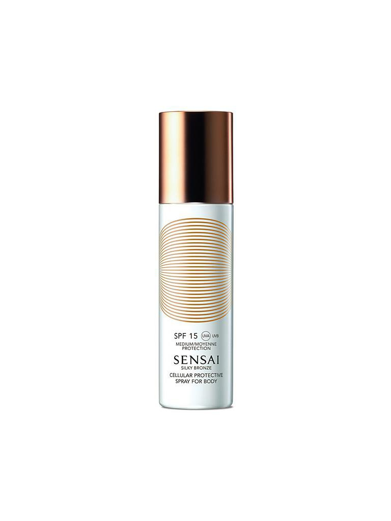 SENSAI | Silky Bronze - Cellular Protective Cream For Body SPF 15 150ml | transparent