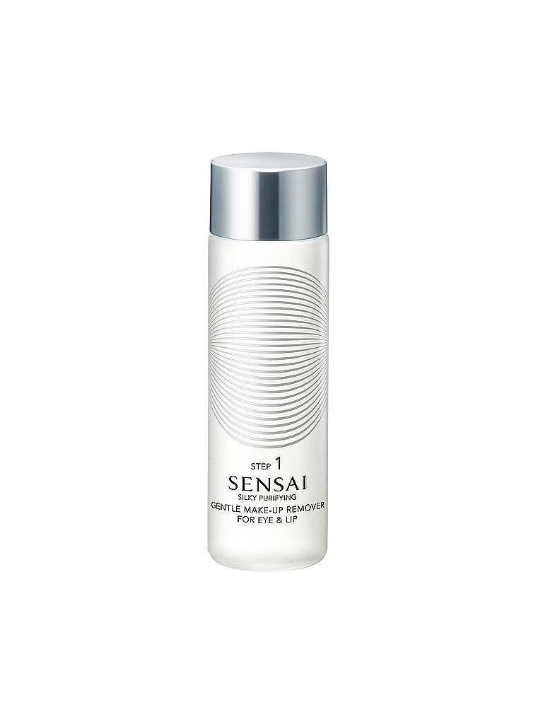 SENSAI | Silky Purifying - Gentle Make-Up Remover for Ey and Lip 100ml | transparent