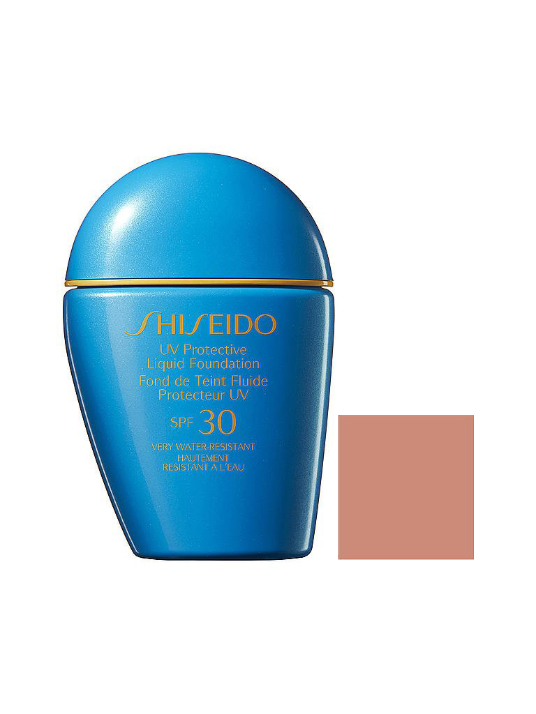 SHISEIDO |    UV Protective Liquid Foundation SPF30 (Medium Beige) 30ml | transparent