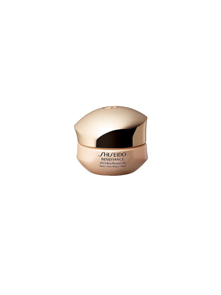 SHISEIDO | Benefiance WrinkleResist24 Intensive Eye Contour Cream 15ml | transparent