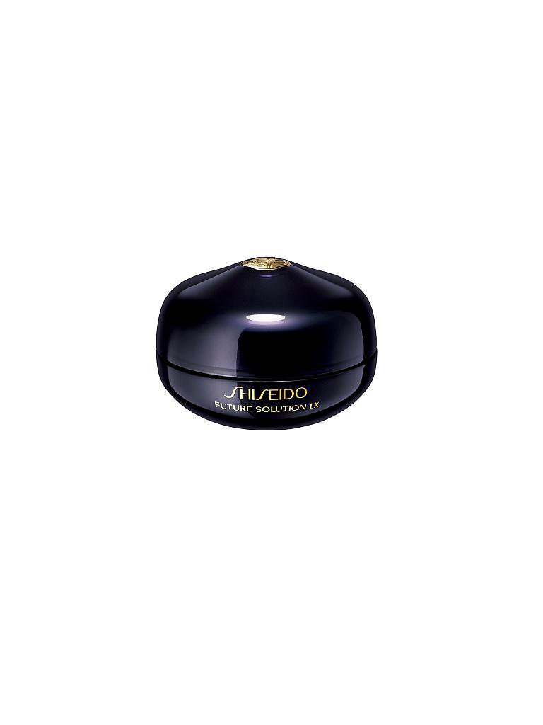 SHISEIDO | Future Solution LX Eye and Lip Contour Regenerating Cream 15ml | transparent