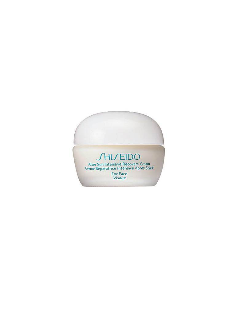 SHISEIDO | Sun Care After Sun Intensive Recovery Cream 40ml | transparent
