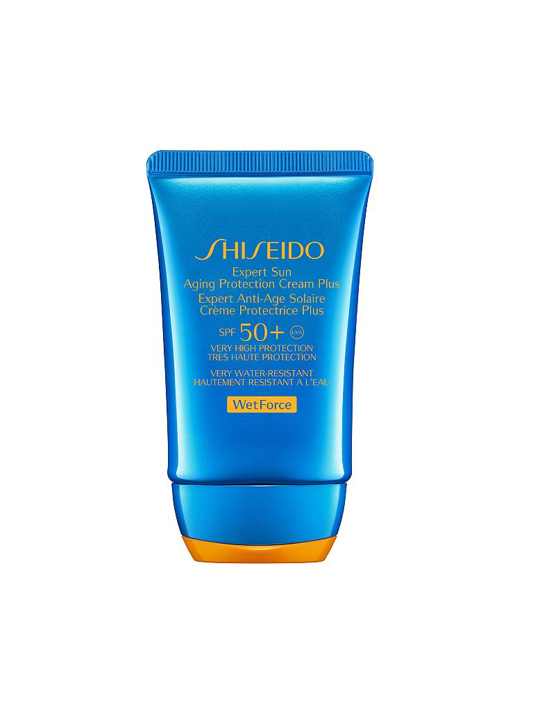 SHISEIDO | Sun Care Expert Sun Aging Protection Cream WetForce SPF 50+ 50ml | transparent