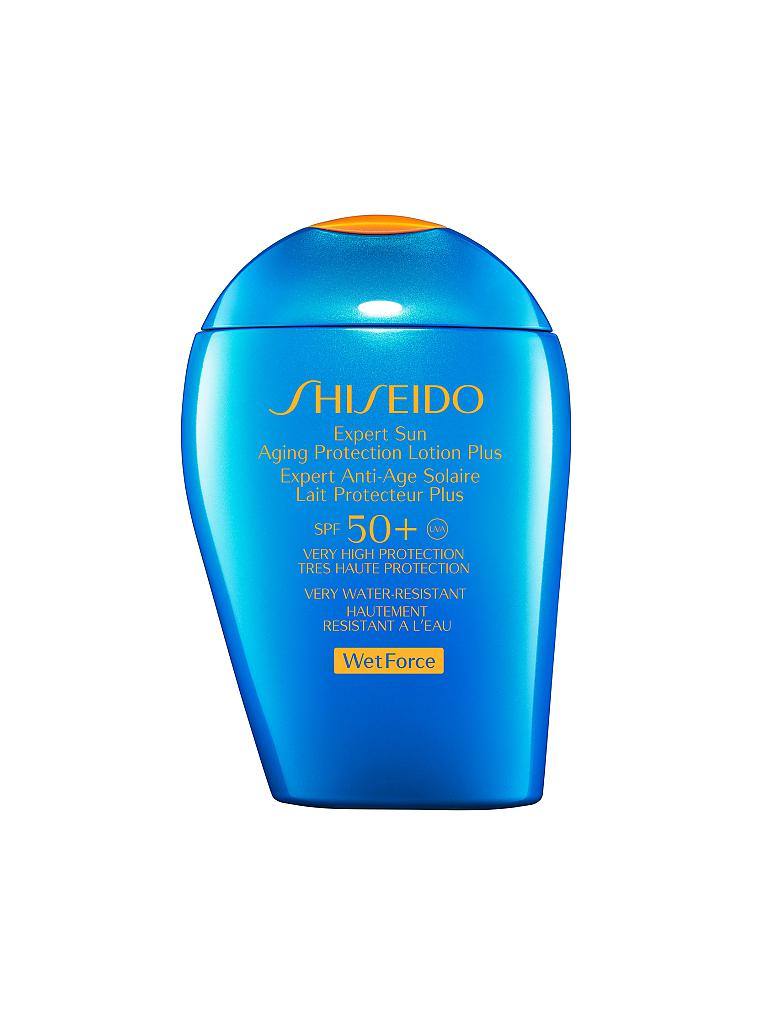 SHISEIDO | Sun Care Expert Sun Aging Protection Lotion WetForce SPF 50+ 100ml | transparent