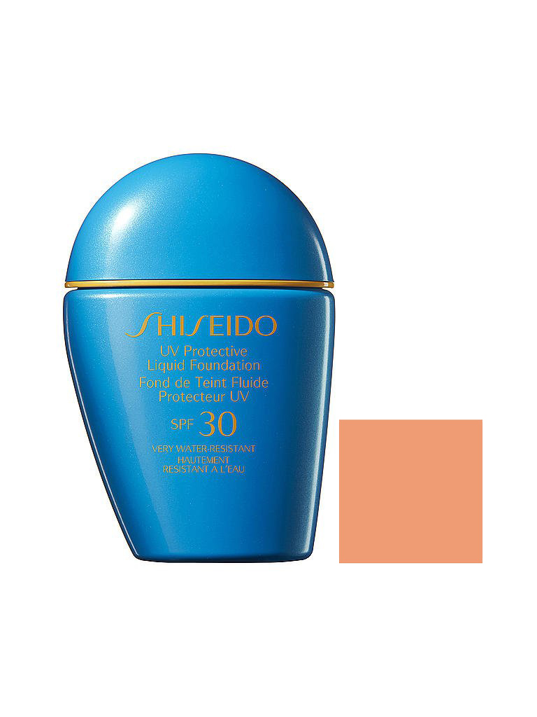 SHISEIDO | UV Protective Liquid Foundation SPF 30 (Medium Ivory) 30ml | transparent