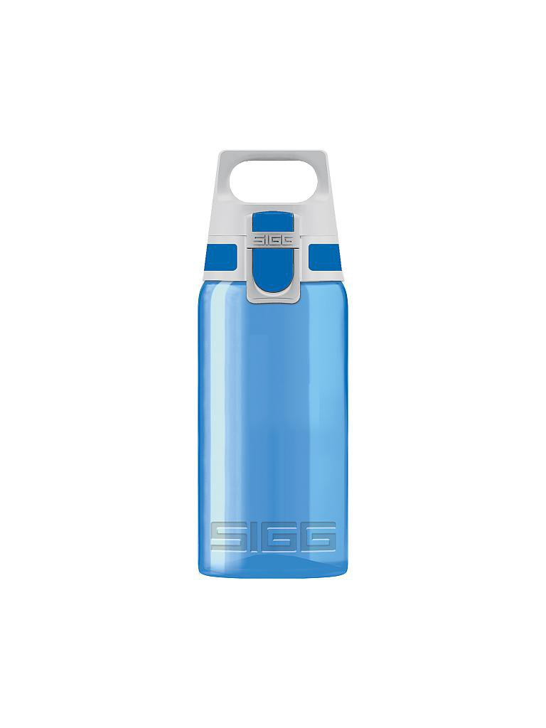 sigg trinkflasche viva one aqua 0 5l blau. Black Bedroom Furniture Sets. Home Design Ideas