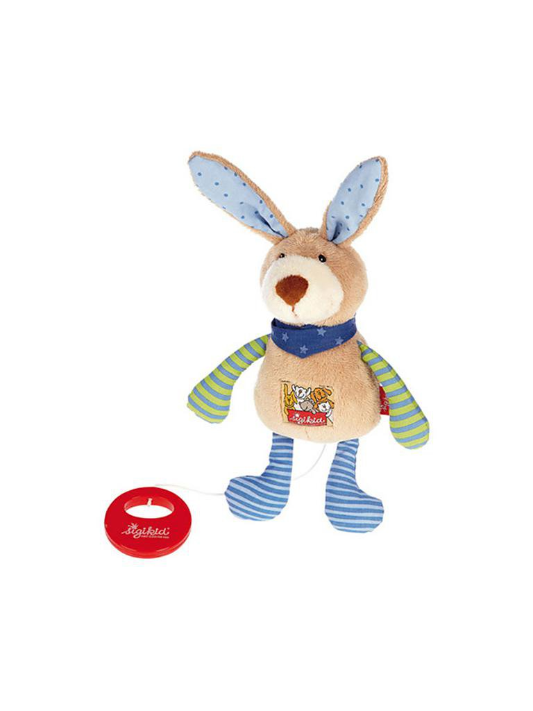 SIGIKID | Spieluhr Hase Red Stars Collection | transparent