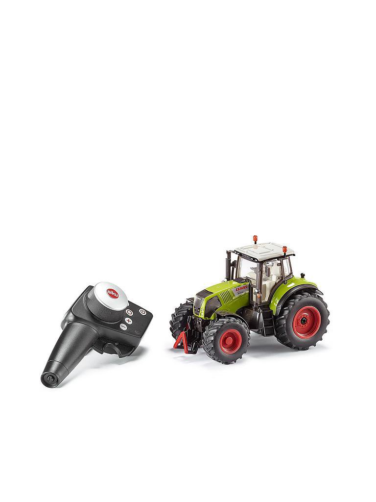 SIKU | Claas Axion 850 Set mit Fernsteuerung  | transparent