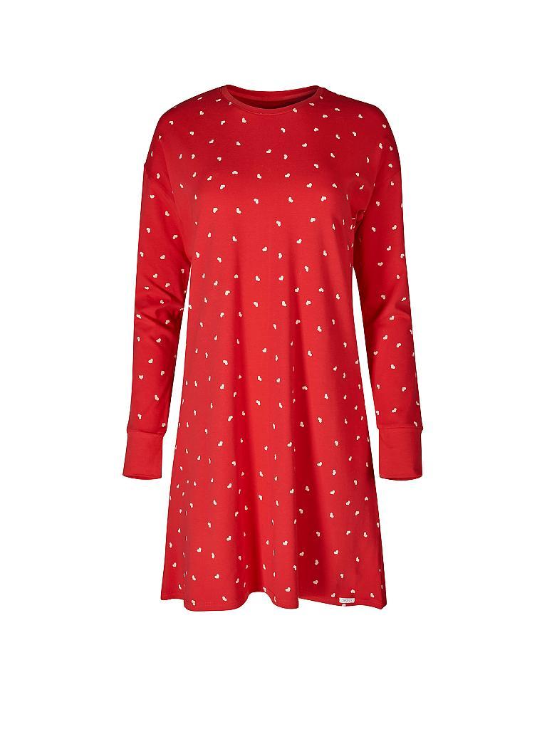 Skiny Damen Joy Sleep Sleepshirt Langarm Nachthemd