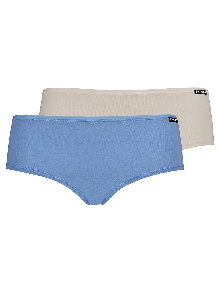 "SKINY | Pant ""Advantage Cotton"" 2-er Pkg. (Ceramic Blue) 
