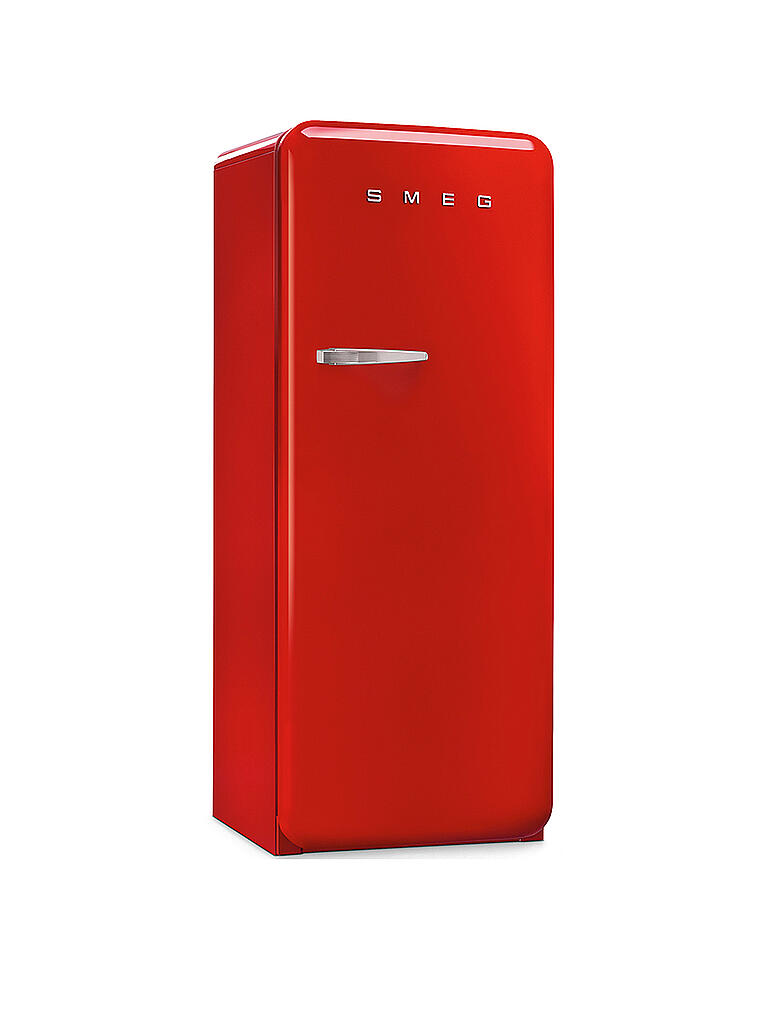 smeg 50 39 s retro style stand k hlschrank 60 cm 4 sterne gefrierfach fab28rr1 rot rot. Black Bedroom Furniture Sets. Home Design Ideas