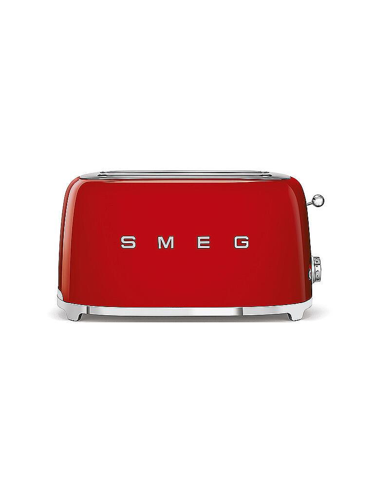 smeg toaster 4 scheiben tsf02rdeu rot rot. Black Bedroom Furniture Sets. Home Design Ideas