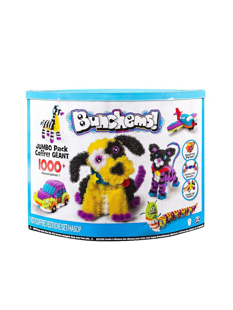 SPINMASTER | Bunchems Colosal Pack (Jumbo Pack) 1000 Teile | transparent