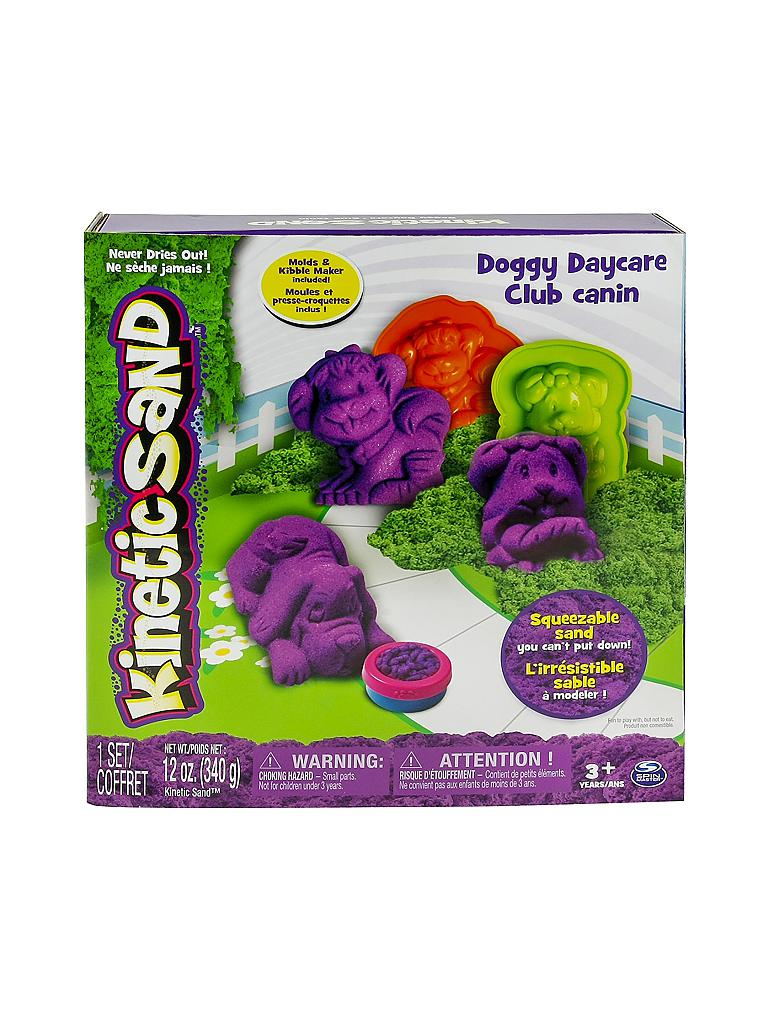SPINMASTER | Kinetic Sand Doggy Daycar | transparent