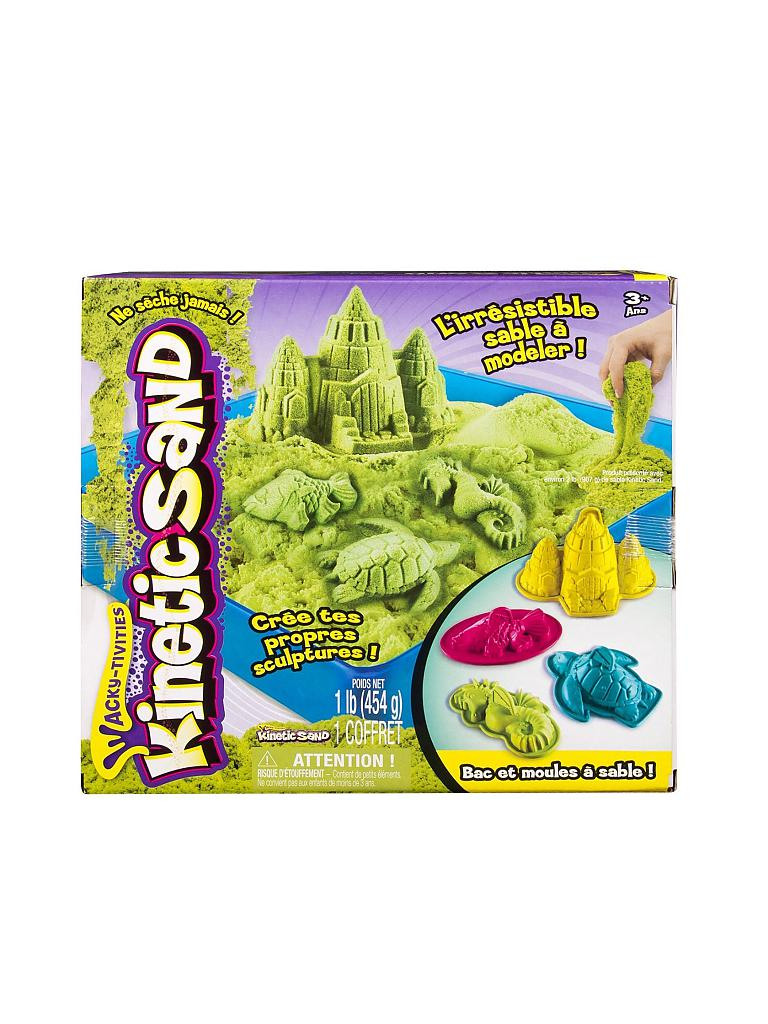 SPINMASTER | Sand Box Set - Magic Play Sand | transparent