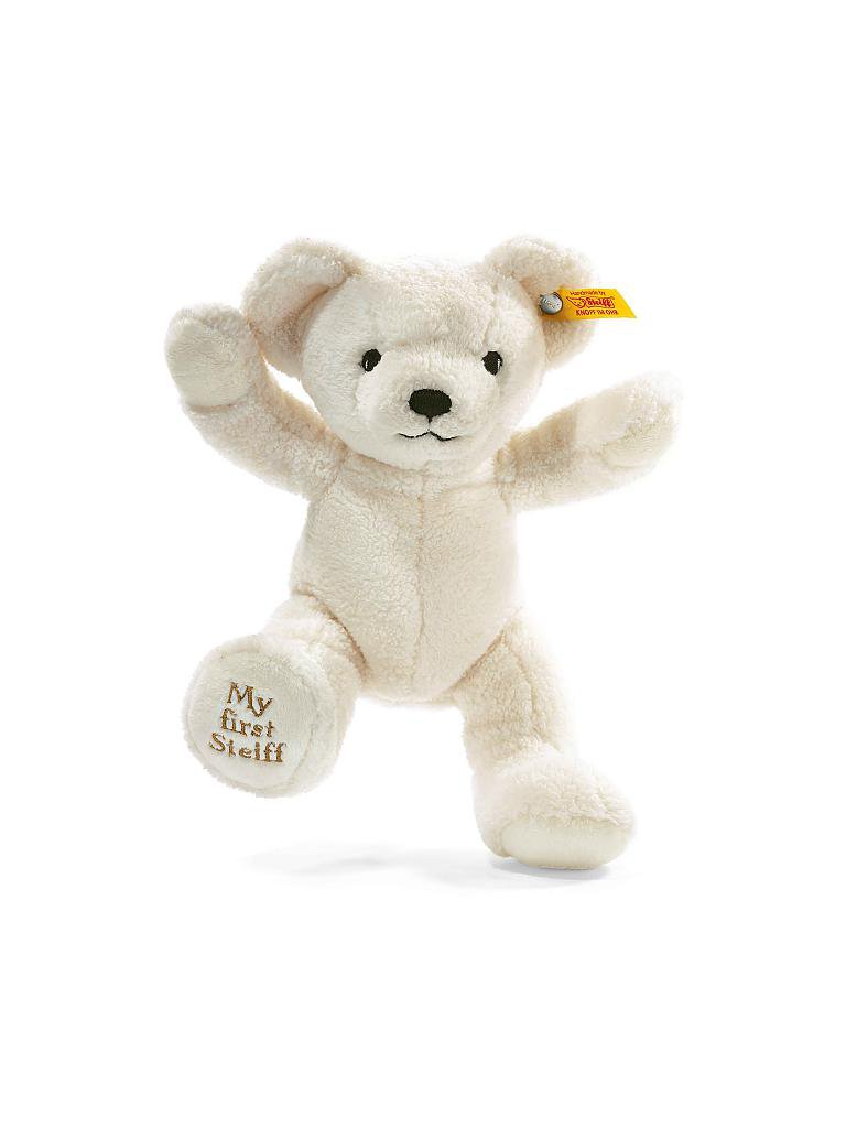 STEIFF | My first Steiff Teddybär 24cm (creme) | transparent