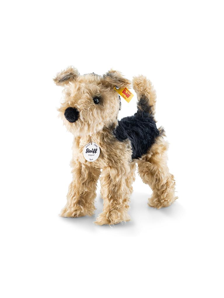 STEIFF | Terri Welsh-Terrier 26cm | transparent