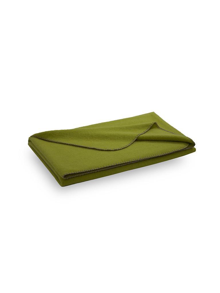 steiner 1888 wolldecke alina 150x190cm limette gr n. Black Bedroom Furniture Sets. Home Design Ideas