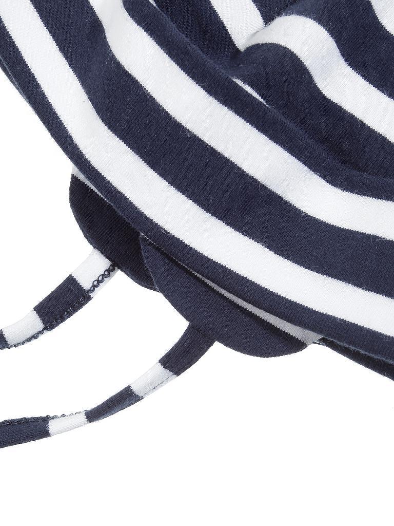 sterntaler haube mit band blau 41. Black Bedroom Furniture Sets. Home Design Ideas
