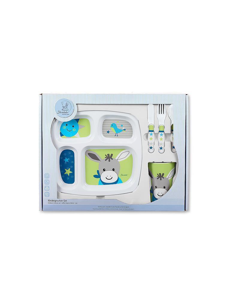 sterntaler kindergeschirr set erik wei. Black Bedroom Furniture Sets. Home Design Ideas