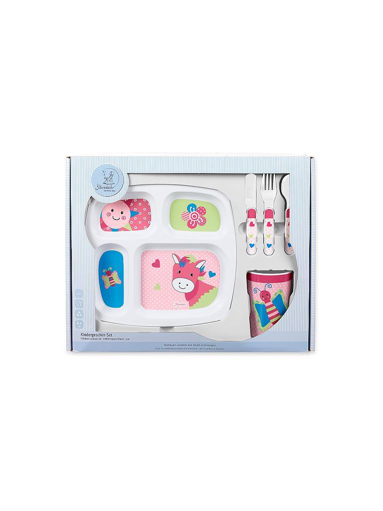 sterntaler kindergeschirr set peggy rosa. Black Bedroom Furniture Sets. Home Design Ideas