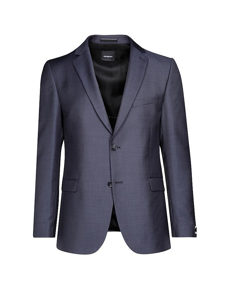 strellson anzug rick james blau 46. Black Bedroom Furniture Sets. Home Design Ideas