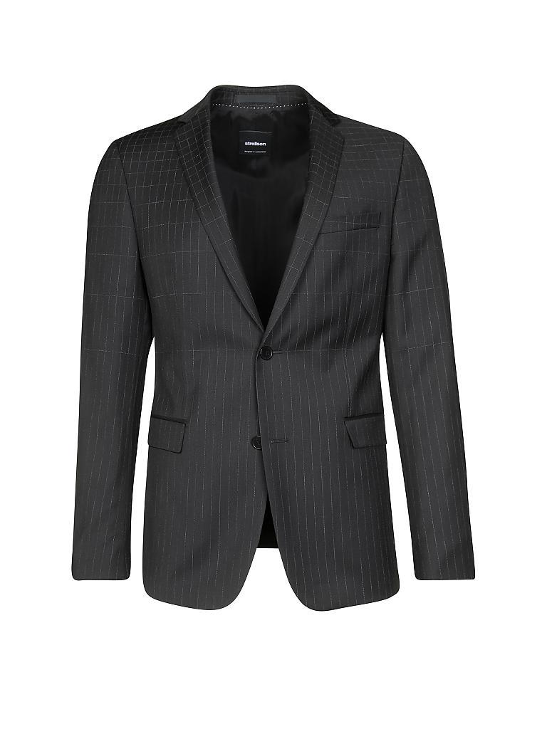 strellson anzug extra slim fit cale madden schwarz 46. Black Bedroom Furniture Sets. Home Design Ideas