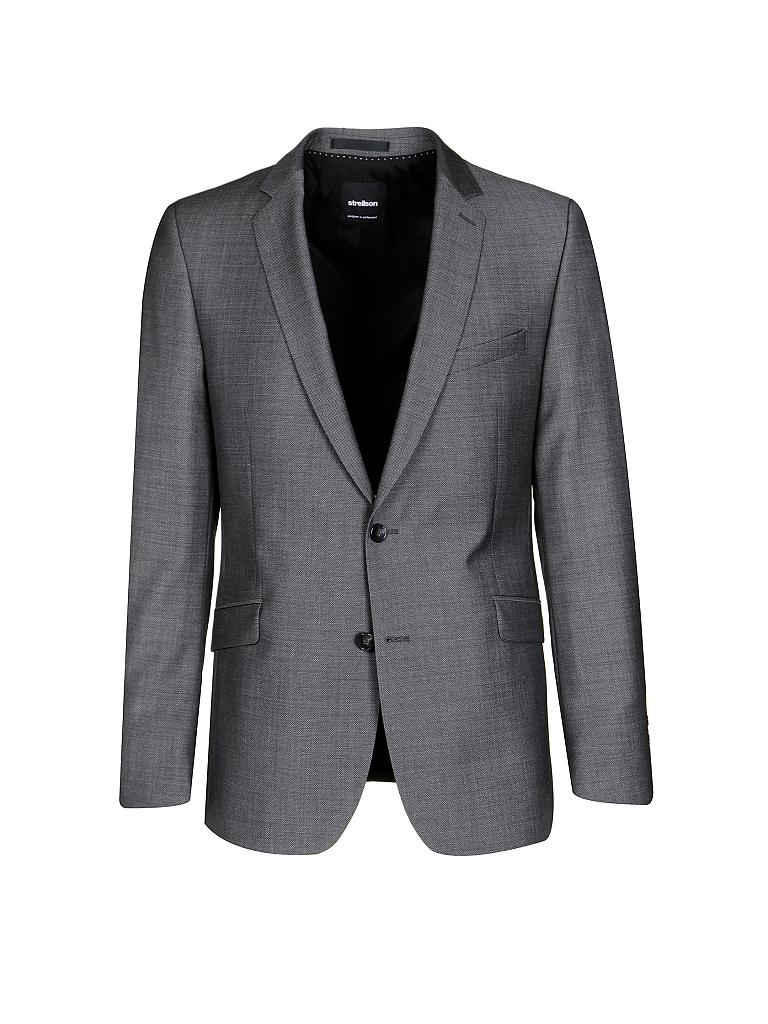 strellson anzug slim fit allen mercer grau 46. Black Bedroom Furniture Sets. Home Design Ideas