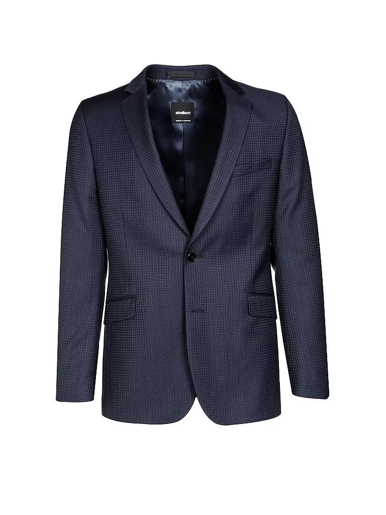 strellson anzug slim fit allen mercer blau 46. Black Bedroom Furniture Sets. Home Design Ideas