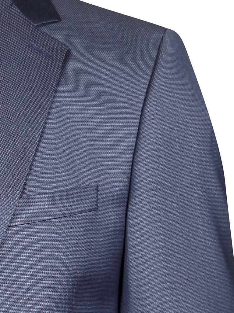 strellson anzug slim fit rick james blau 46. Black Bedroom Furniture Sets. Home Design Ideas
